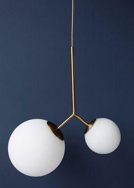 House doctor - Lampe - Twice Lamp - Sort