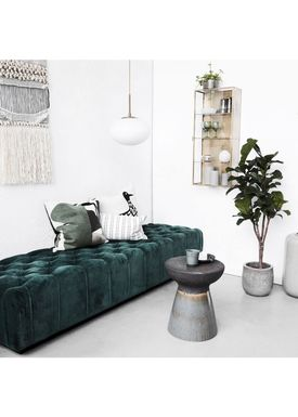 House doctor - Couch - Ottoman - Green