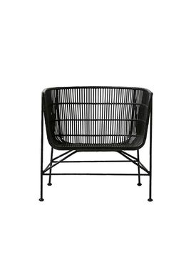 House doctor - Stol - Cuun Chair - Large - Black