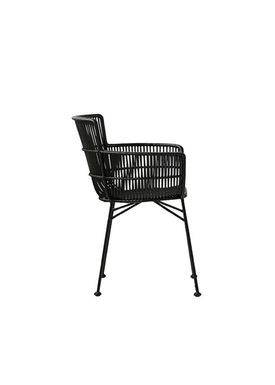 House doctor - Stol - Cuun Chair - Small - Black