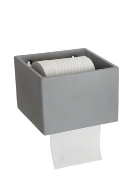 House Doctor - Toilet Papir Holder - Cement Papirholder - Cement