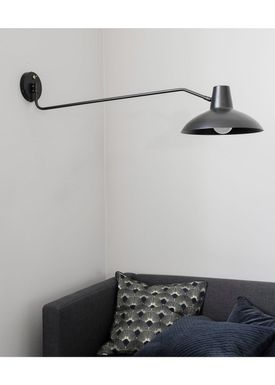 House doctor - Wall lamp - Desk Wall Lamp - Large - Black
