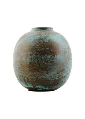 House Doctor - Vase - Effect Vase - Antik Grøn - 13 cm