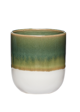 Hübsch - Kop - Ceramic Mugs - Green