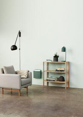 Hübsch - Fåtölj - Recliner Chair - Gray