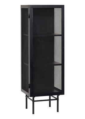 Hübsch - Display - Metal Mesh Fronts - Small - Black