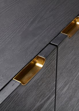 Hübsch - Skåp - Dresser - Black/Brass