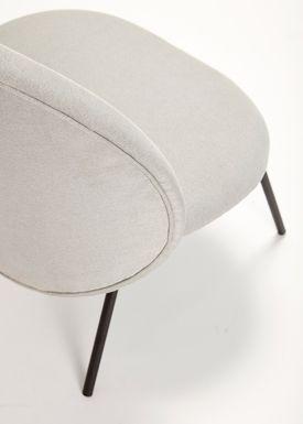 Hübsch - Stol - Lounge Chair - Gray