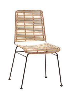 Hübsch - Chair - Rattan Chair - Nature