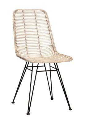 Hübsch - Stol - Studio Chair - White