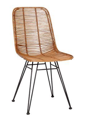 Hübsch - Stol - Studio Chair - Nature