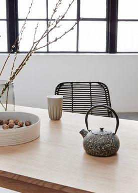 Hübsch - Stol - Studio Chair - Black