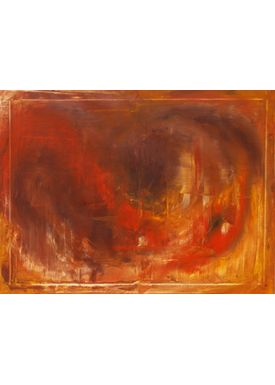 Iren Falentin - Painting - Africa - Orange