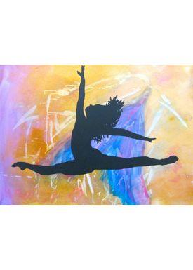 Iren Falentin - Painting - Ballet - Multi