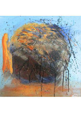 Iren Falentin - Painting - Cabbage - Multi