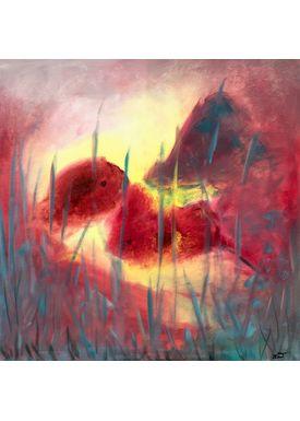 Iren Falentin - Painting - Cozy - Multi