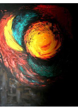 Iren Falentin - Painting - Fruit1 - Multi