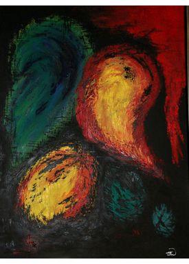 Iren Falentin - Painting - Fruit2 - Multi