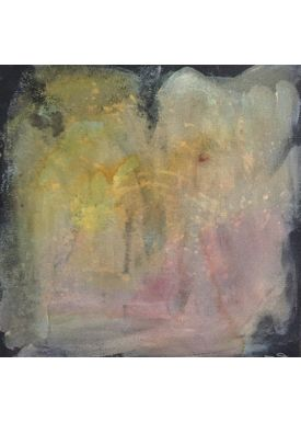 Iren Falentin - Painting - Grey weather 2 - Yellow