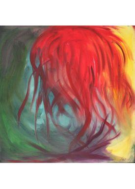 Iren Falentin - Painting - Hairdresser Julie - Multi