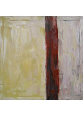 Iren Falentin - Painting - Mur - Brown