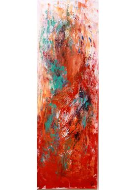 Iren Falentin - Painting - See my beautiful navel - Multi