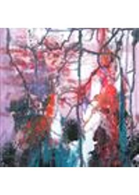 Iren Falentin - Painting - Sunrice in the forest - Multi