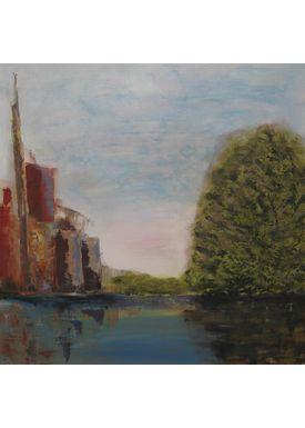 Iren Falentin - Painting - Towards evening - Multi