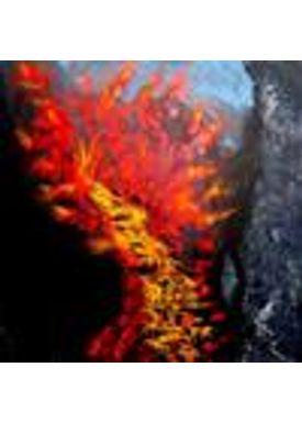 Iren Falentin - Painting - Vulcanic eruptions - Multi