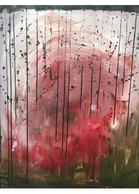 Iren Falentin - Painting - World in pink - Pink