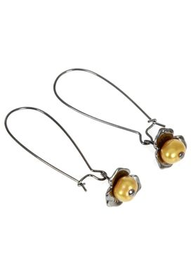 Iren Falentin - Earrings - Amalie - Yellow