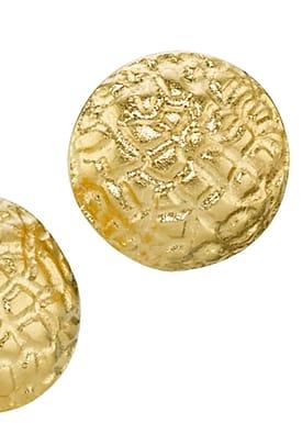 Croco Øreringe Guld