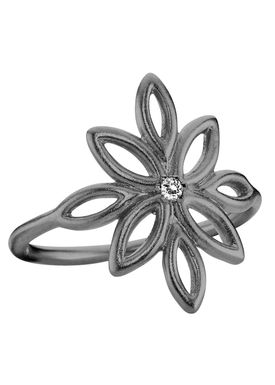 Izabel Camille - Ring - Blossom Ring - Black
