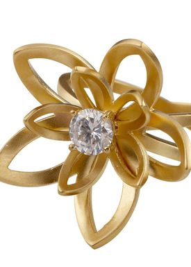 Izabel Camille - Ring - Lotus - Gold