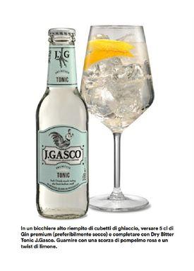 J. Gasco - Tonicwater - Tonic - Dry Bitter Tonic