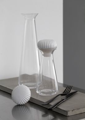 Kähler - Decanter - Hammershøi Carafe - White - Small