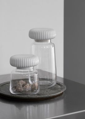 Kähler - Jar - Hammershøi Storage Jar - White - Small