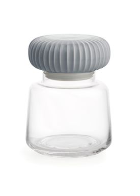 Kähler - Jar - Hammershøi Storage Jar - Marble Grey - Small