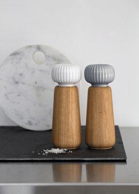Kähler - Mill - Hammershøi Mill - Marble Grey