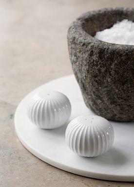 Kähler - Kværn - Hammershøi Salt og Pebersæt - Hvid