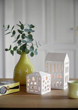 Kähler - Candle Holder - Urbania Candle/Ligth House - Byhus - H105