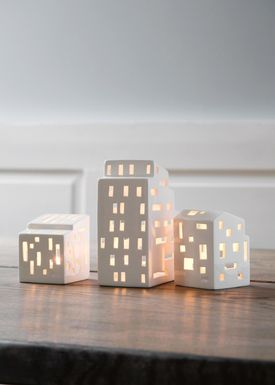 Kähler - Candle Holder - Urbania Candle/Ligth House - Kubis - H160