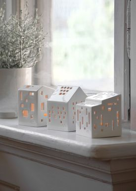 Kähler - Candle Holder - Urbania Candle/Ligth House - Klassisk - H95