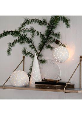 Kähler - Lysestage - Nobili Juletræ - Hvid - 285