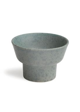 Kähler - Candlestick - Ombria Candle Holder - Granite Green