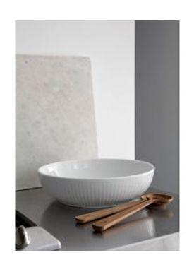 Kähler - Bowl - Hammershøi Salat Bowl - White
