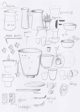 Kähler - Bowl - Ombria Bowl - Granite Green