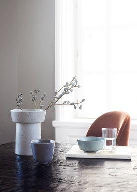 Kähler - Bowl - Ombria Bowl - Marble White