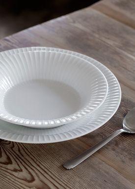 Kähler - Plate - Hammershøi Plate - White - Deep