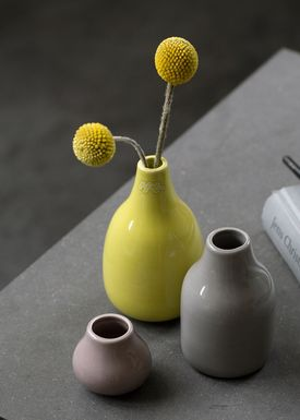 Kähler - Vase - Botanica Miniature 3-pak - Lys